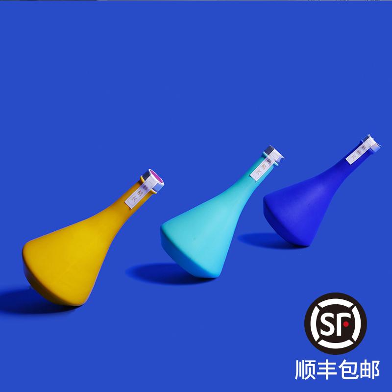 【顺丰包邮】玫瑰清香型花果白酒低度礼物甜酒36度3瓶装小酒版礼盒装