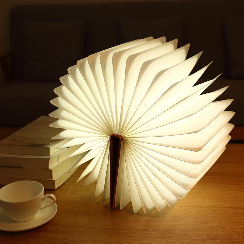 创意折叠书本灯