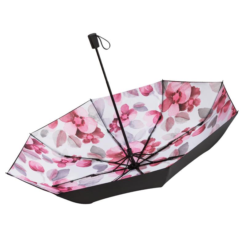 黑胶雨伞防晒防紫外线遮阳伞