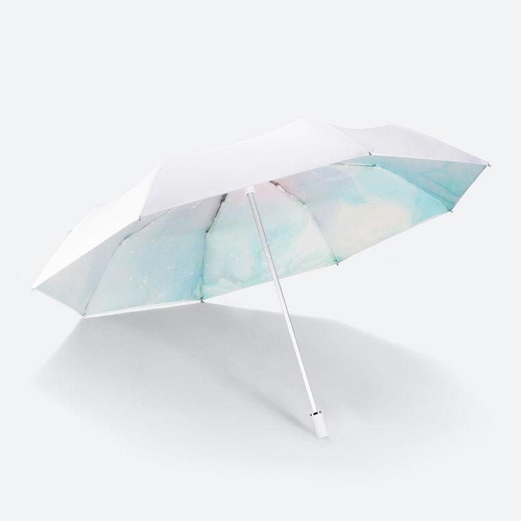 ,太阳辣么猛,少了遮阳伞小心变黑妹!