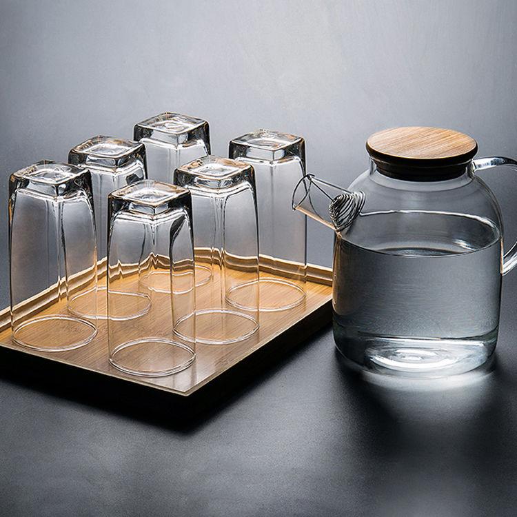 ,晶莹玻璃杯,看完有种喝水的欲望~