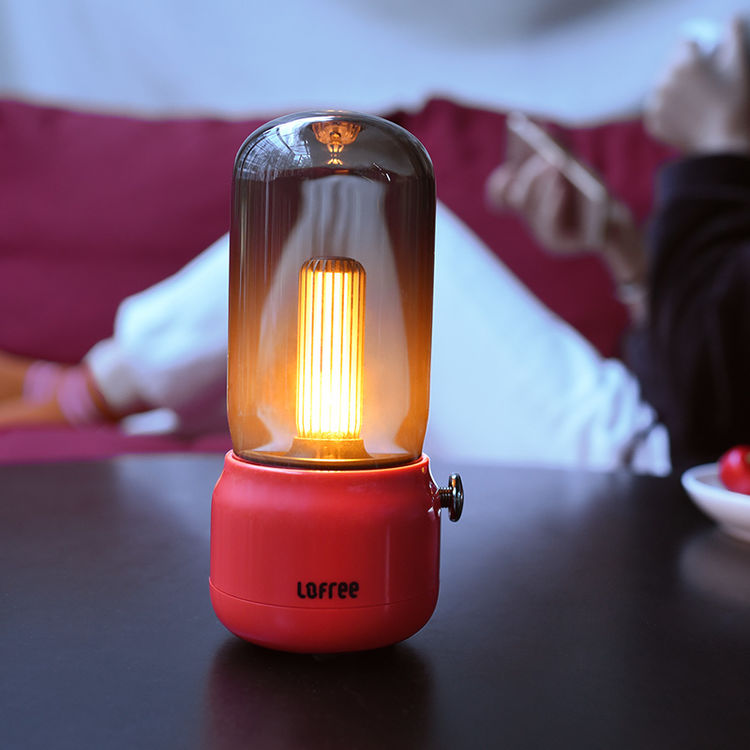 双模式充电,这是什么神仙设计?蜡烛般的灯~