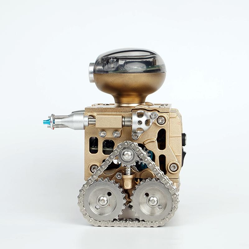 金属遥控机器人模型