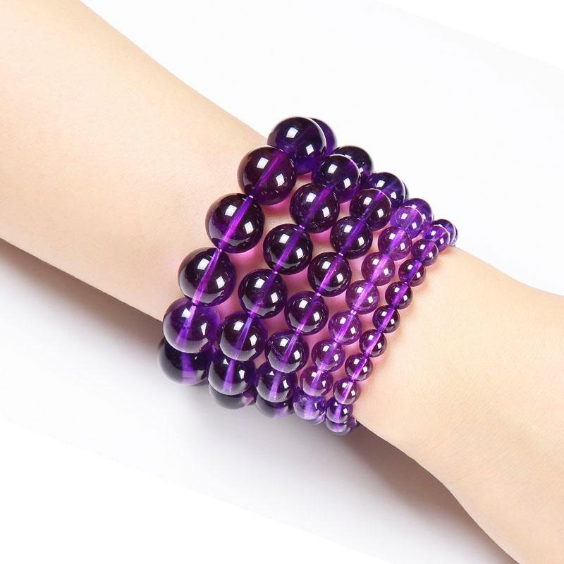米洛乌拉圭天然紫水晶手链