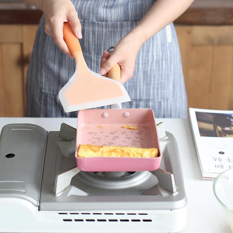 日式樱花玉子烧煎锅