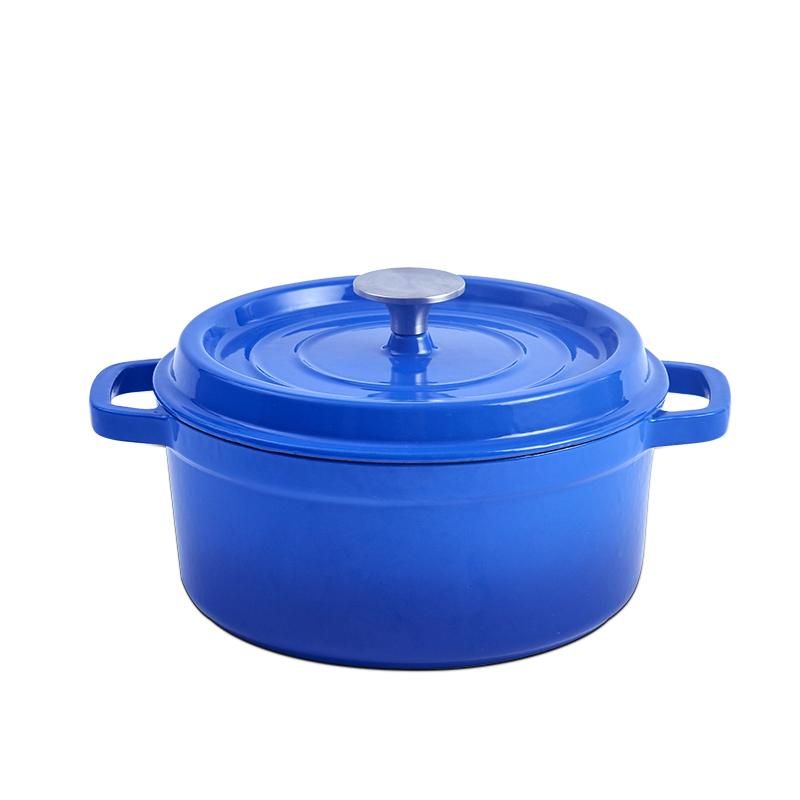 珐琅铸铁炖锅