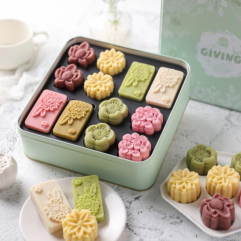 桂花绿豆糕礼盒