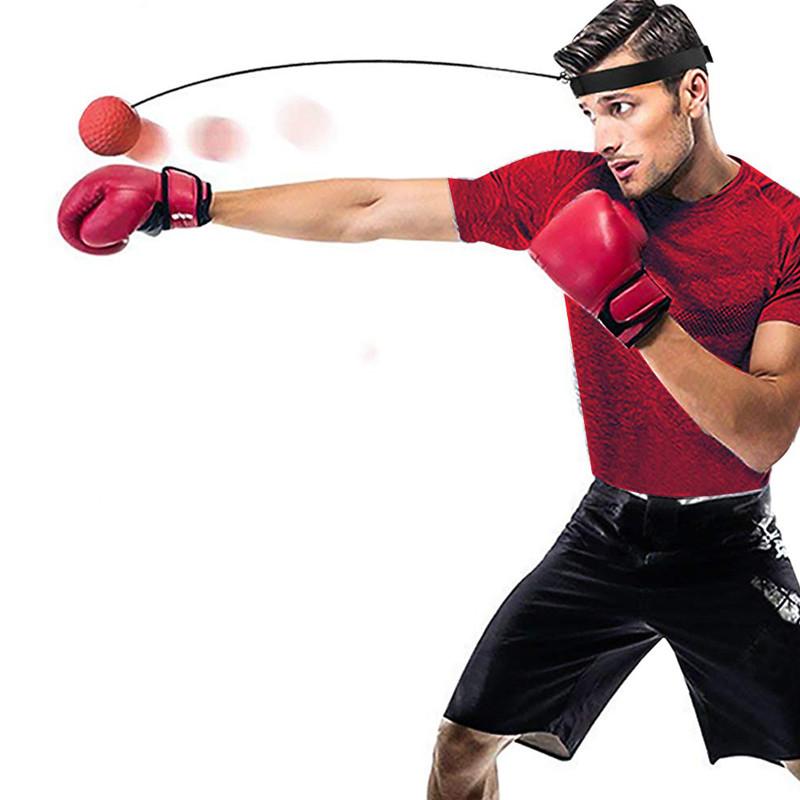头戴式拳击反应球