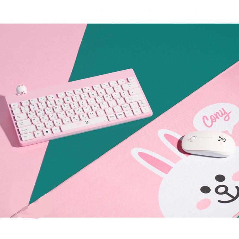 布朗熊无线键盘