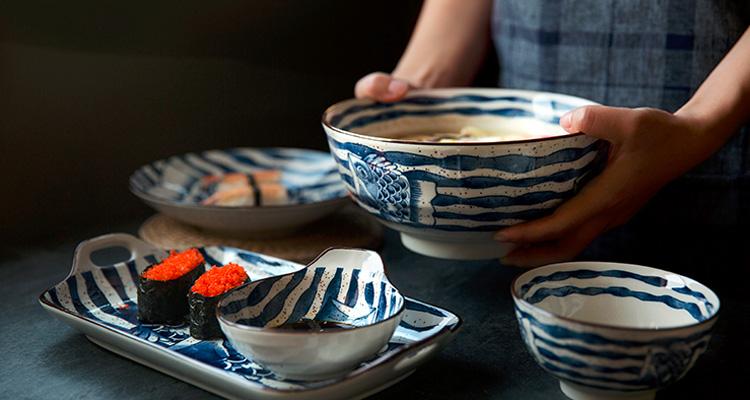 给妈妈换套日式餐具,让生活充满温馨感~