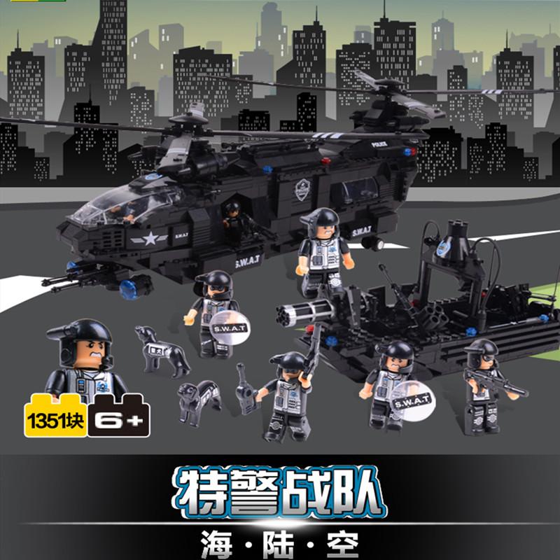 海陆空特警战队模型