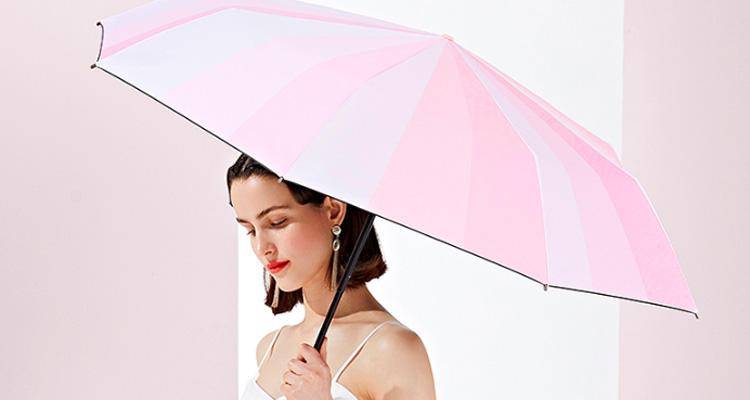 太阳辣么猛,少了遮阳伞小心变黑妹!
