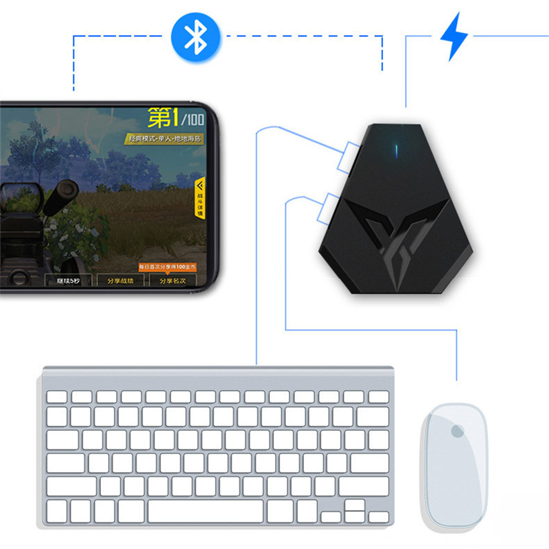 自动压抢键盘鼠标套装