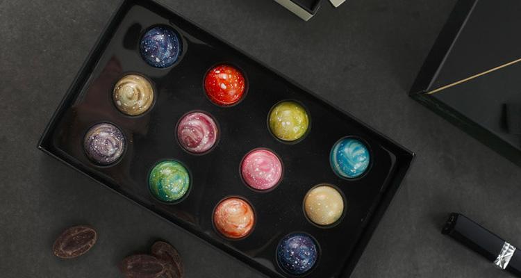 星空巧克力礼盒,给她宇宙级别的甜蜜