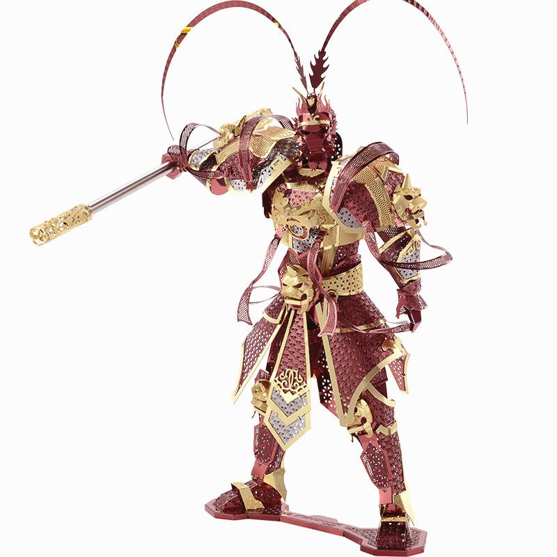 美猴王3D金属拼装模型