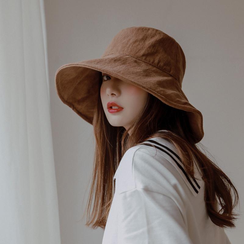 大帽檐防晒遮阳帽