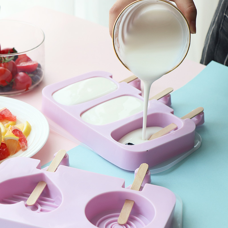 硅胶冰淇淋雪糕模具