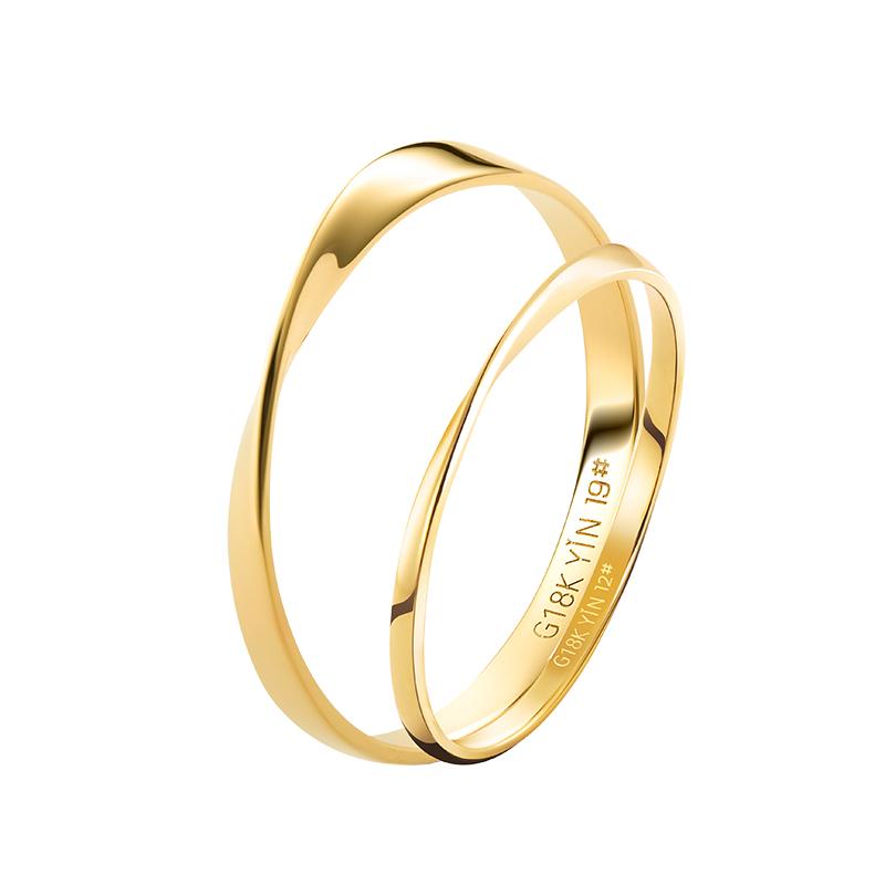 隐系列-莫比乌斯环纤细款戒指