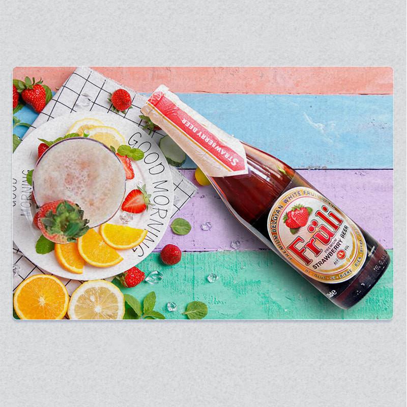 Fruli草莓比利时进口精酿果味酒