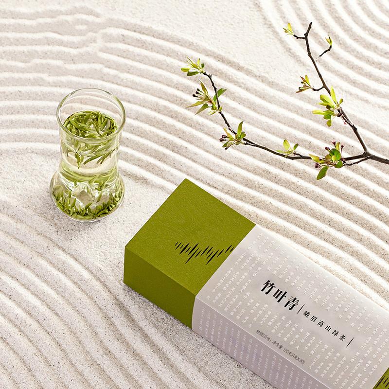 竹叶青高山绿茶礼盒
