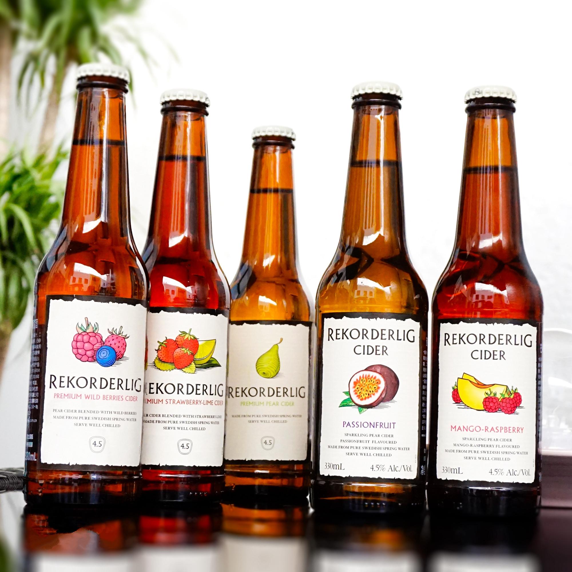 瑞可德林Cider水果味啤酒