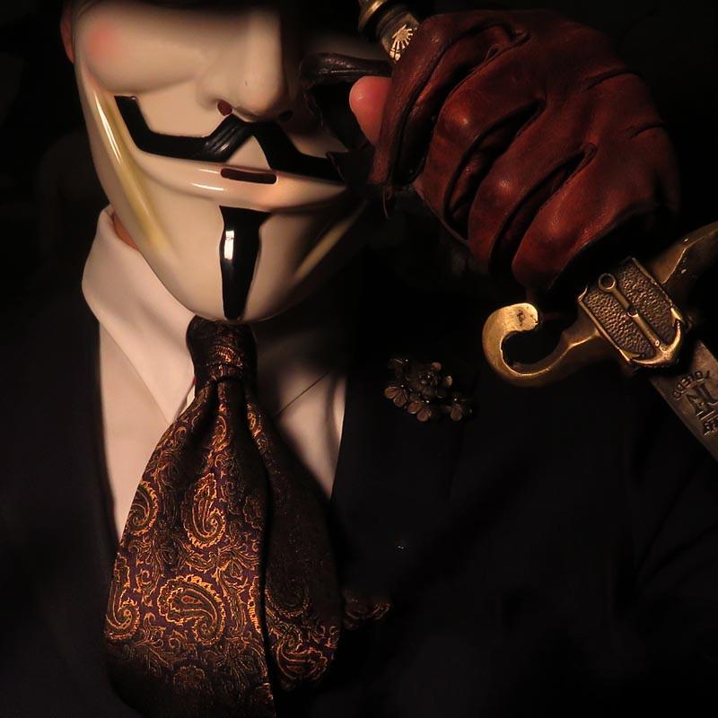 纯手工宫廷风领带