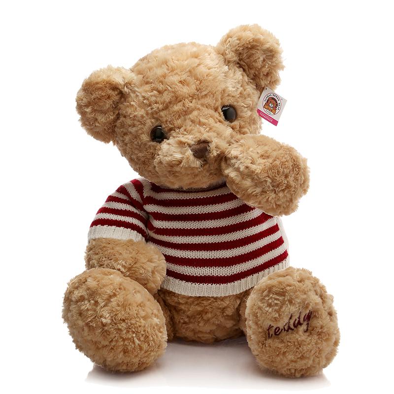 毛衣泰迪熊公仔