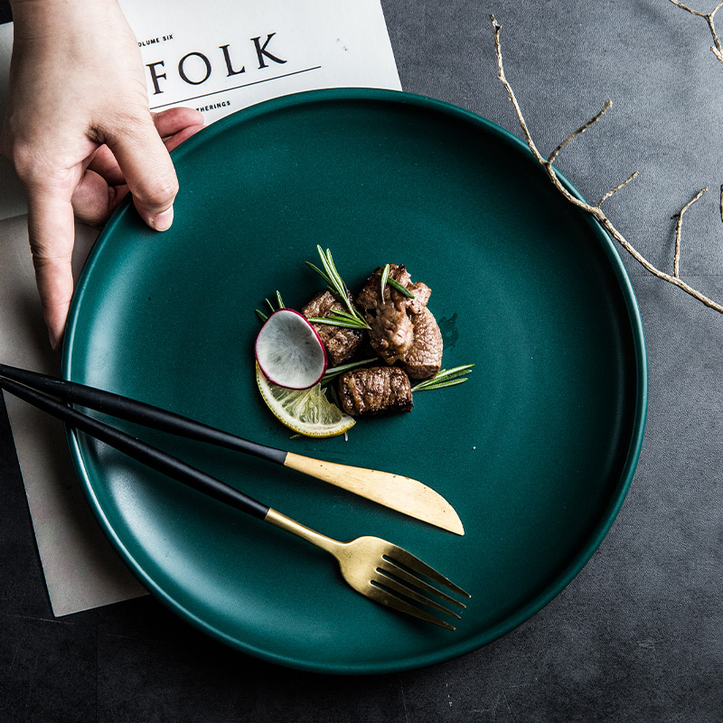 北欧创意西餐盘