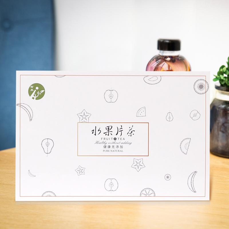 网红水果片茶