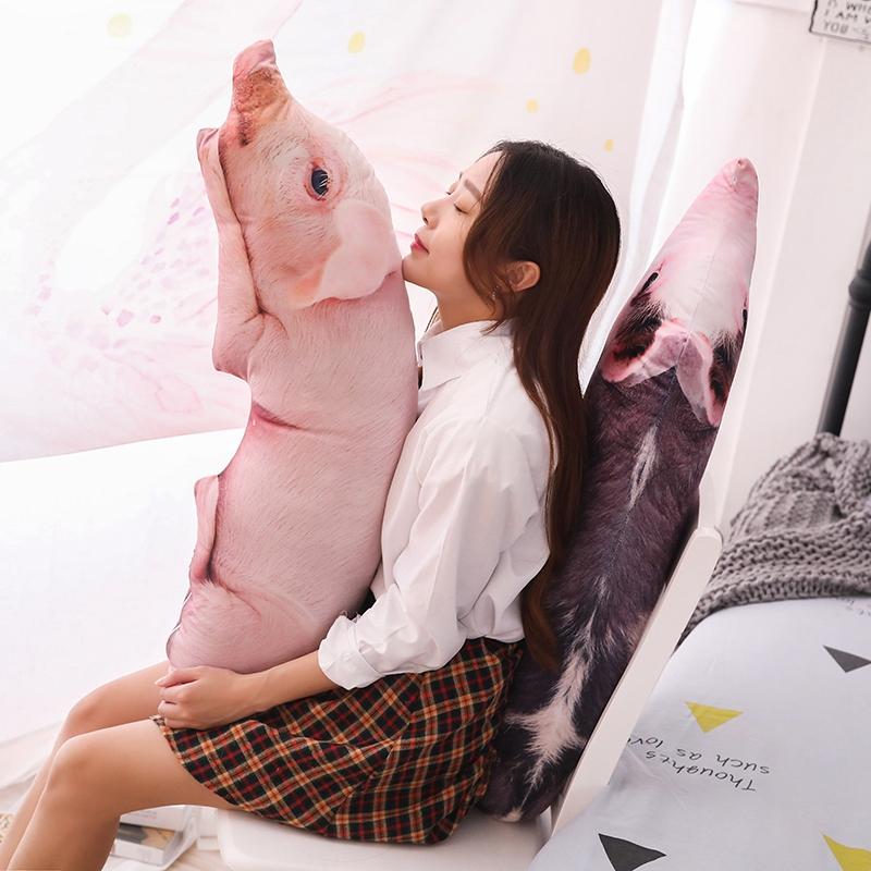 搞怪创意仿真母猪抱枕