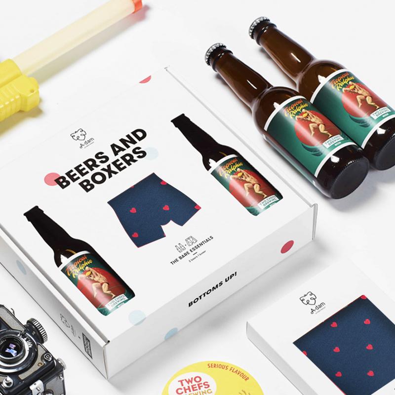 内裤&啤酒七夕礼盒