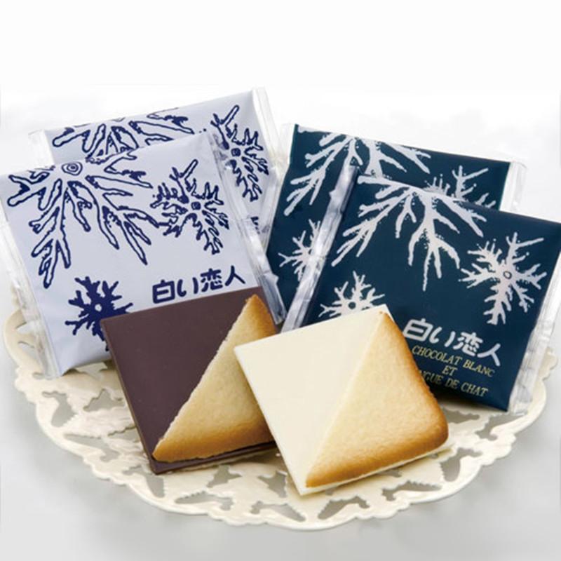 白色恋人巧克力夹心饼干