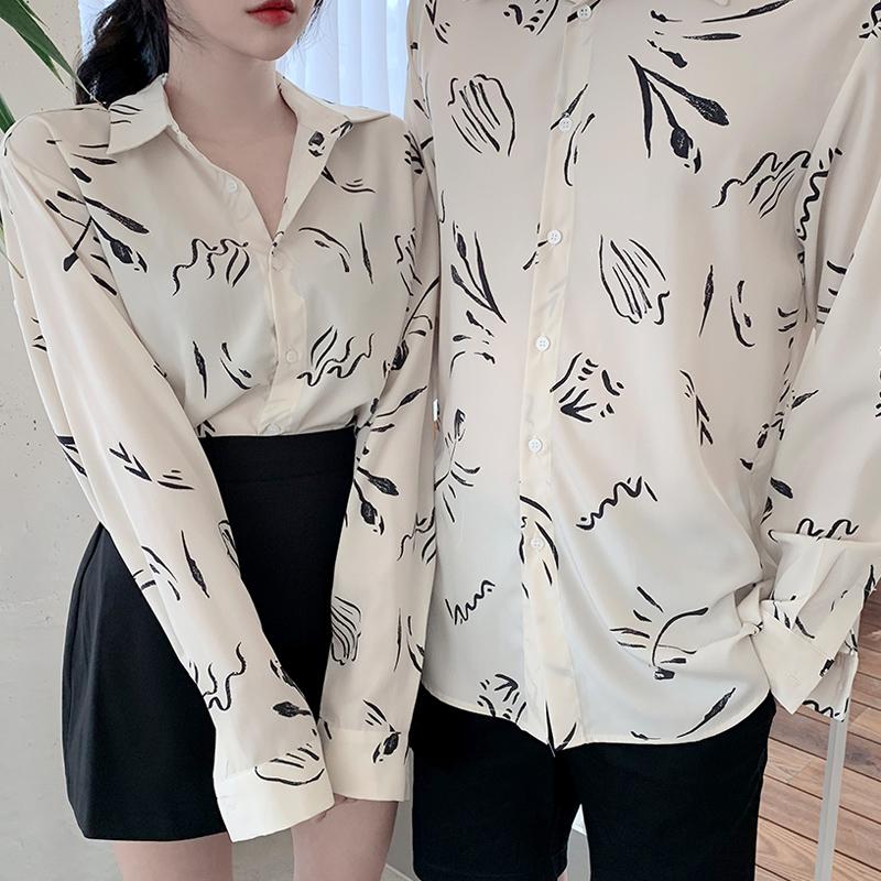 气质情侣衬衫