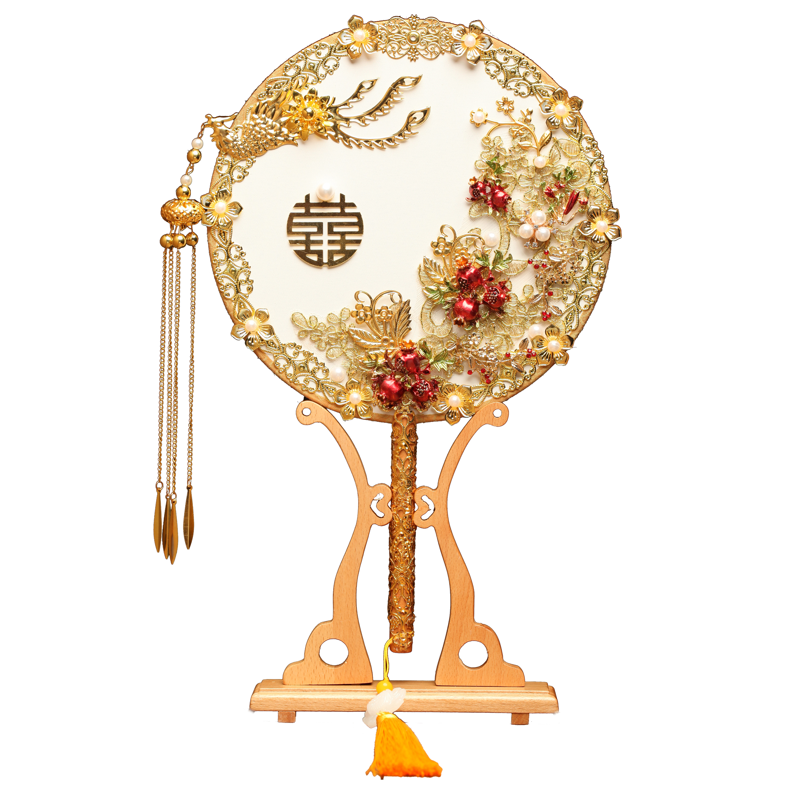 中式手工团扇