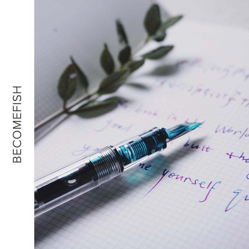 水妖 透明钢笔