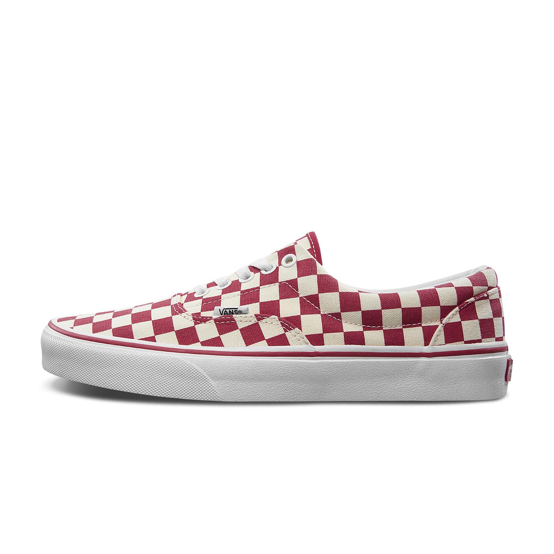 Vans棋盘格帆布鞋