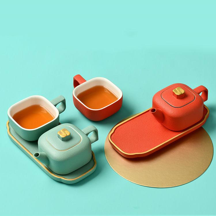 ,第一次去朋友家做客,送套精致的茶具刚刚好