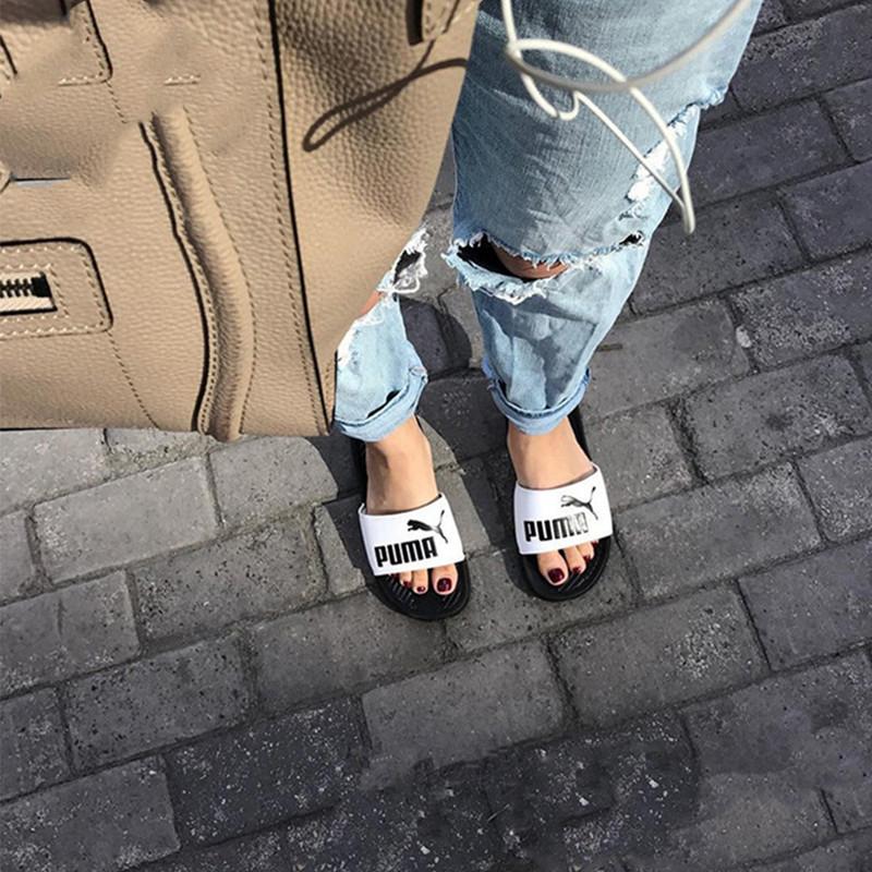 Puma情侣拖鞋