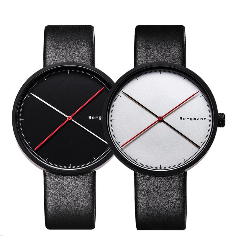 Bergmann情侣红点手表