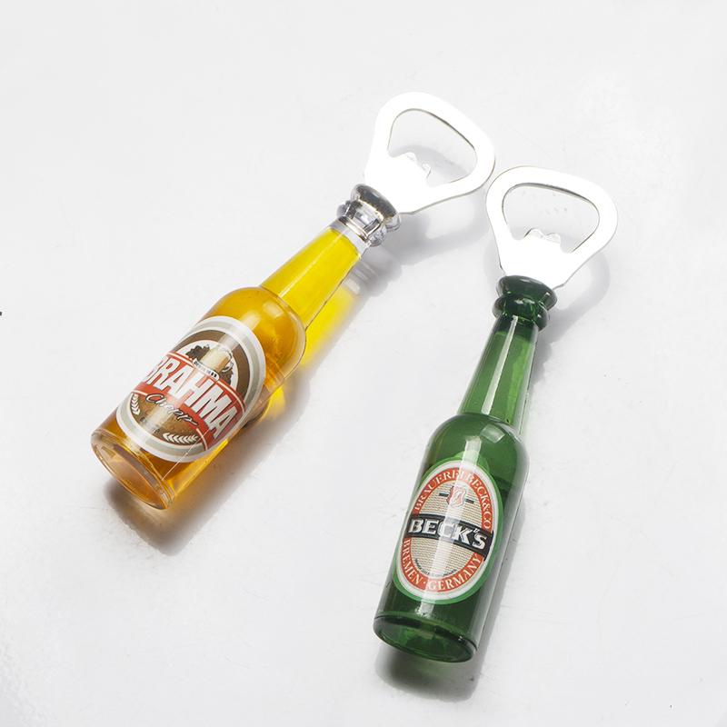 创意啤酒开瓶器冰箱贴