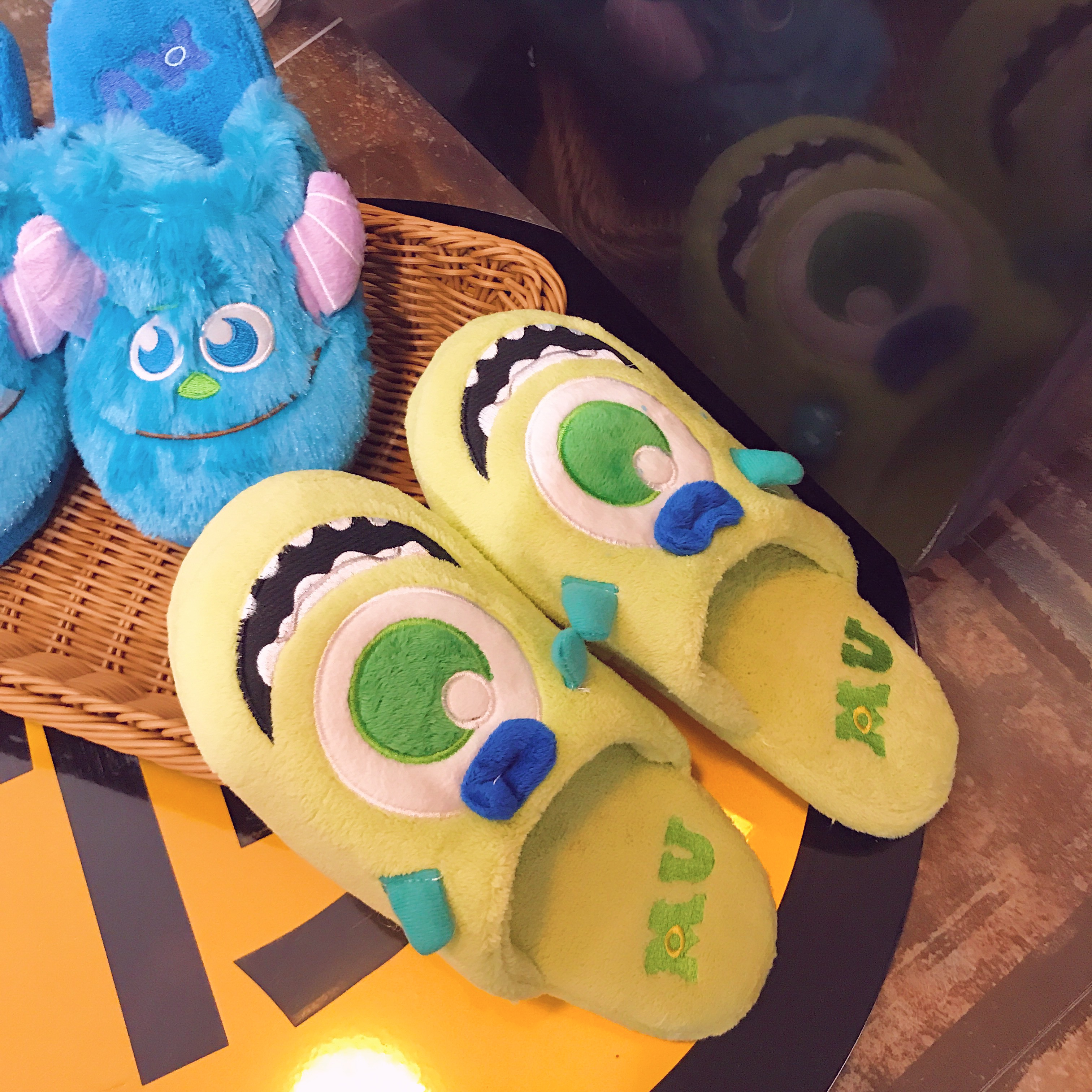 怪物大学韩版室内棉拖鞋