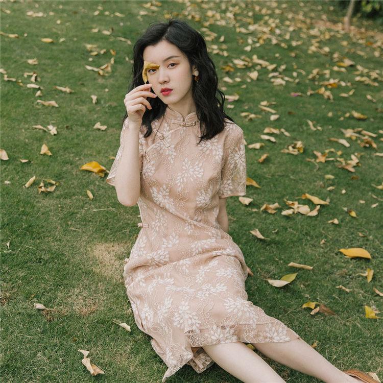 ,旗袍当道丨改良版旗袍裙,让你风情万种,国色倾城。