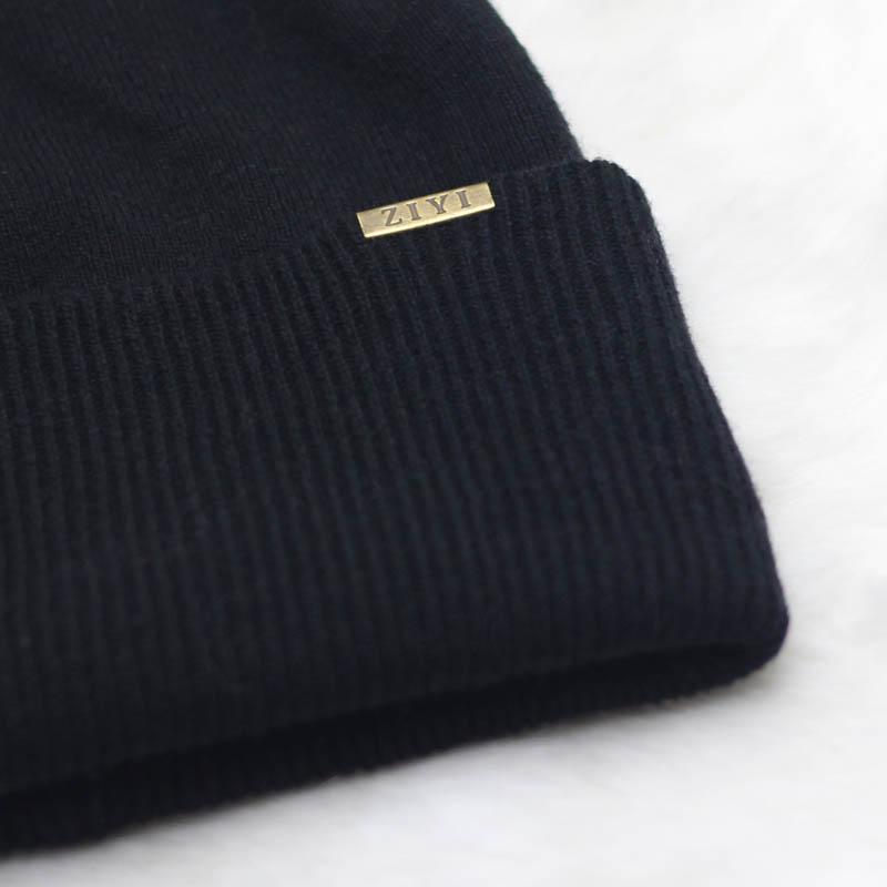秋冬针织堆堆帽