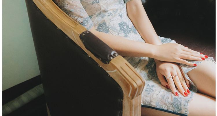 旗袍當道丨改良版旗袍裙,讓你風情萬種,國色傾城。
