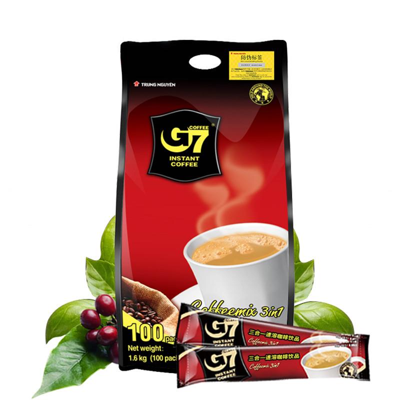 G7三合一速溶咖啡粉