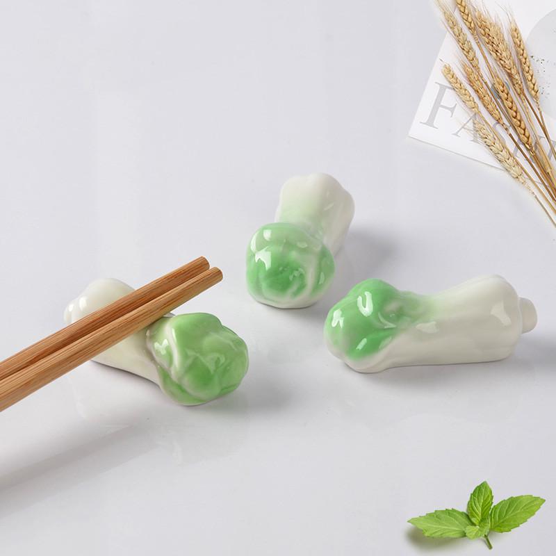日式创意陶瓷筷子架