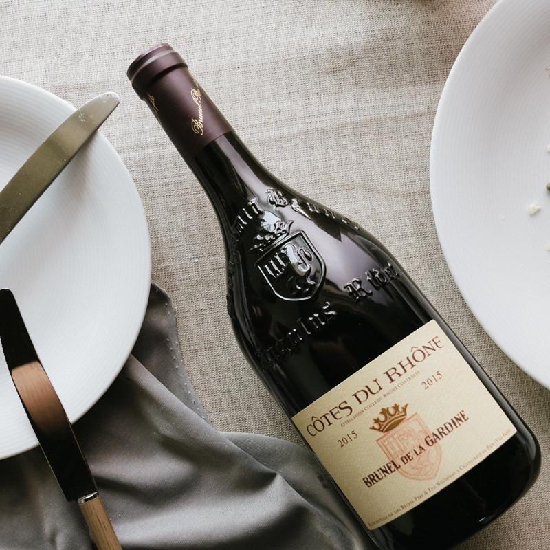 Gardine酒庄歪脖子干红葡萄酒