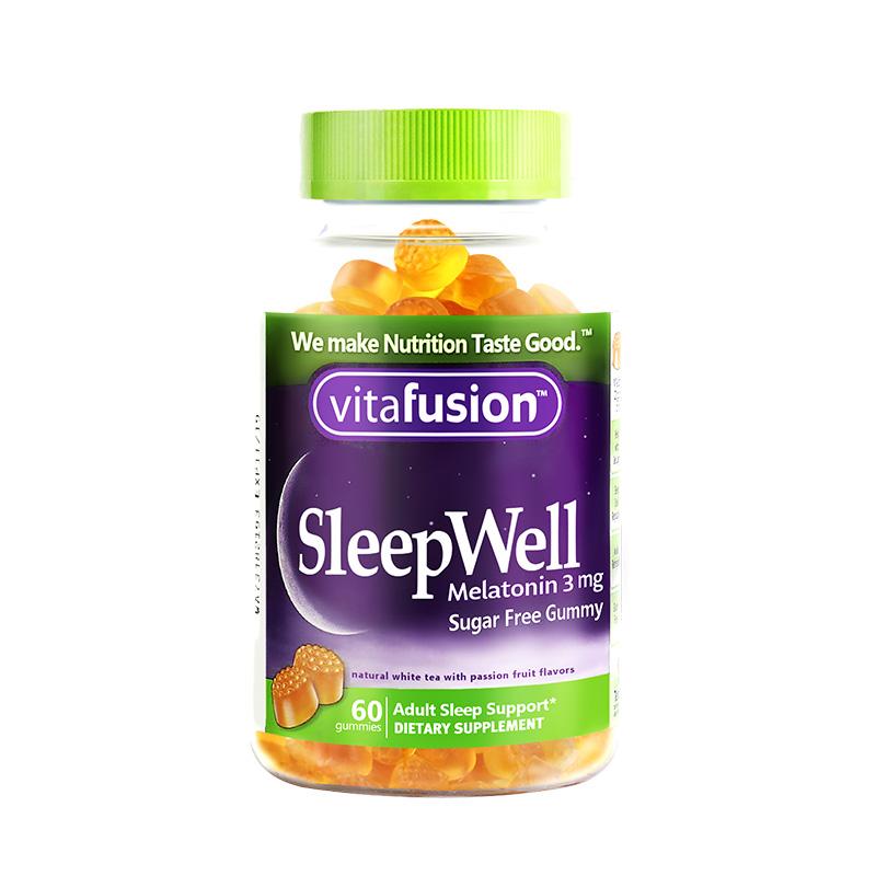 美国VitafusionSleepWell褪黑素软糖