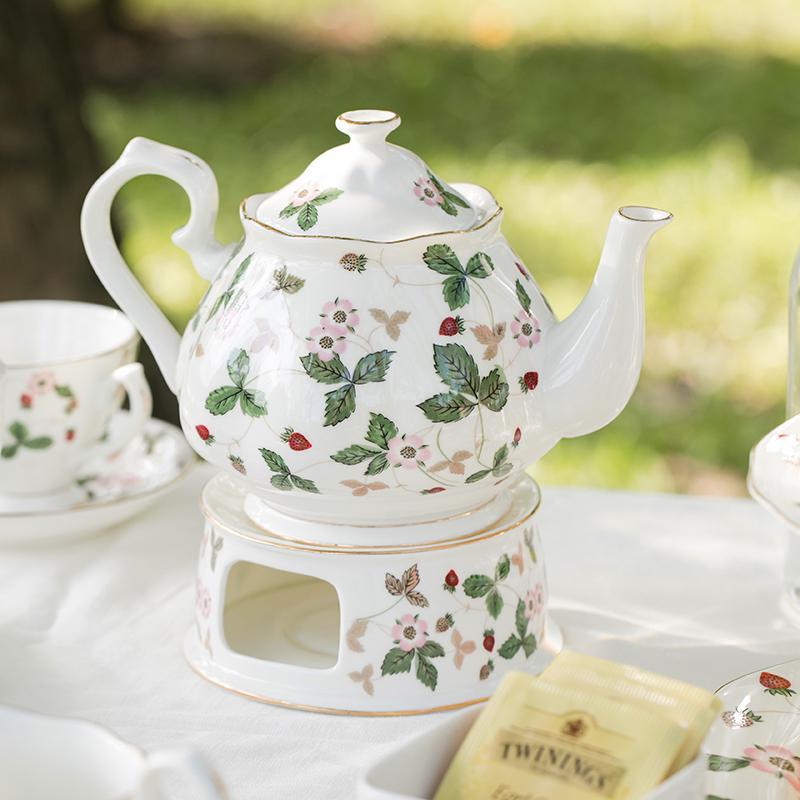 田园风 野草莓系列茶具套装