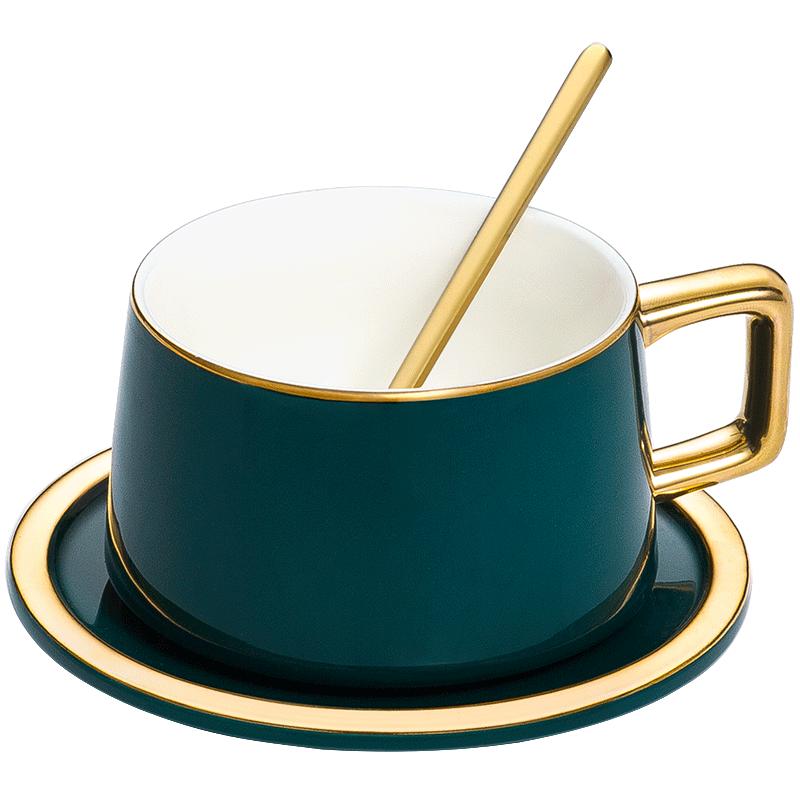欧式小奢华 陶瓷咖啡杯套装